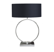 Ringlamp - Zilver - Tafellamp - 1 ring - Big