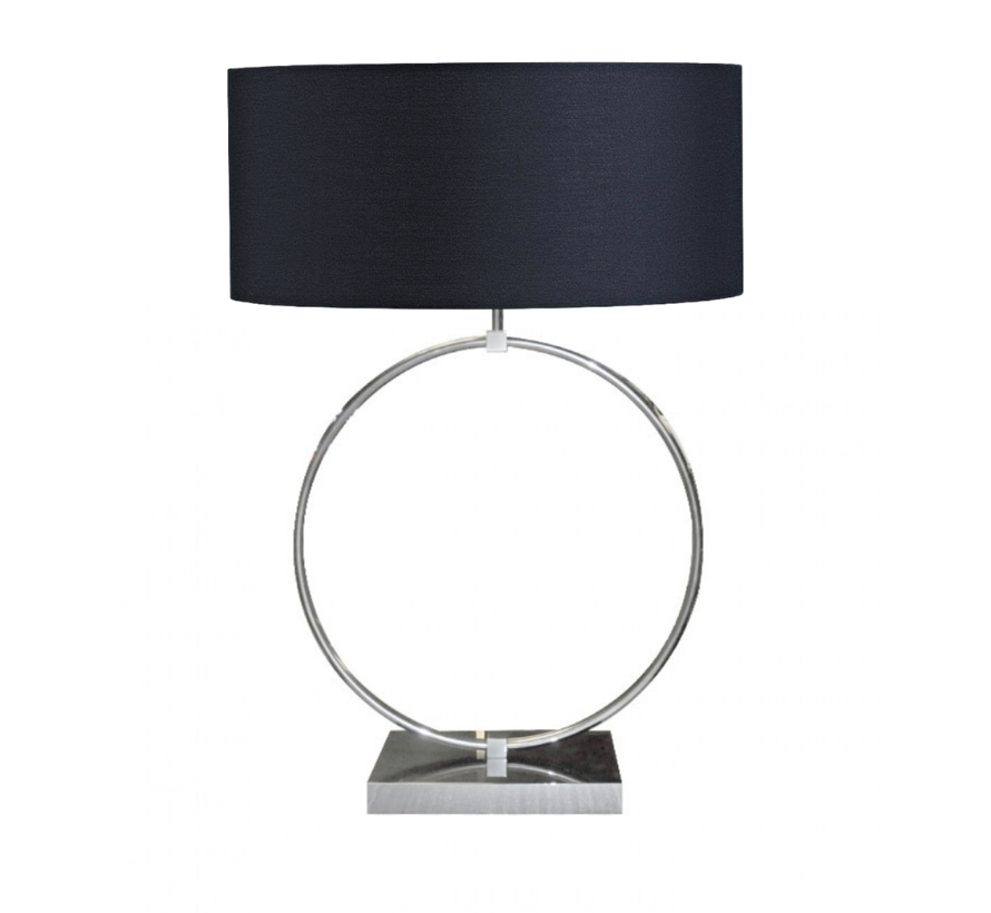 Ringlamp - Zilver - Tafellamp - 1 ring - Big