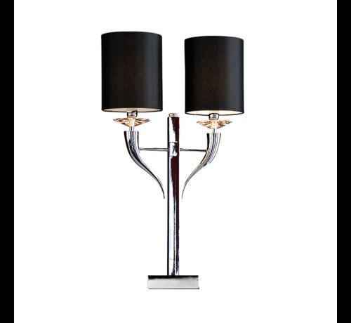 Tafellamp Hoorn - Zilver
