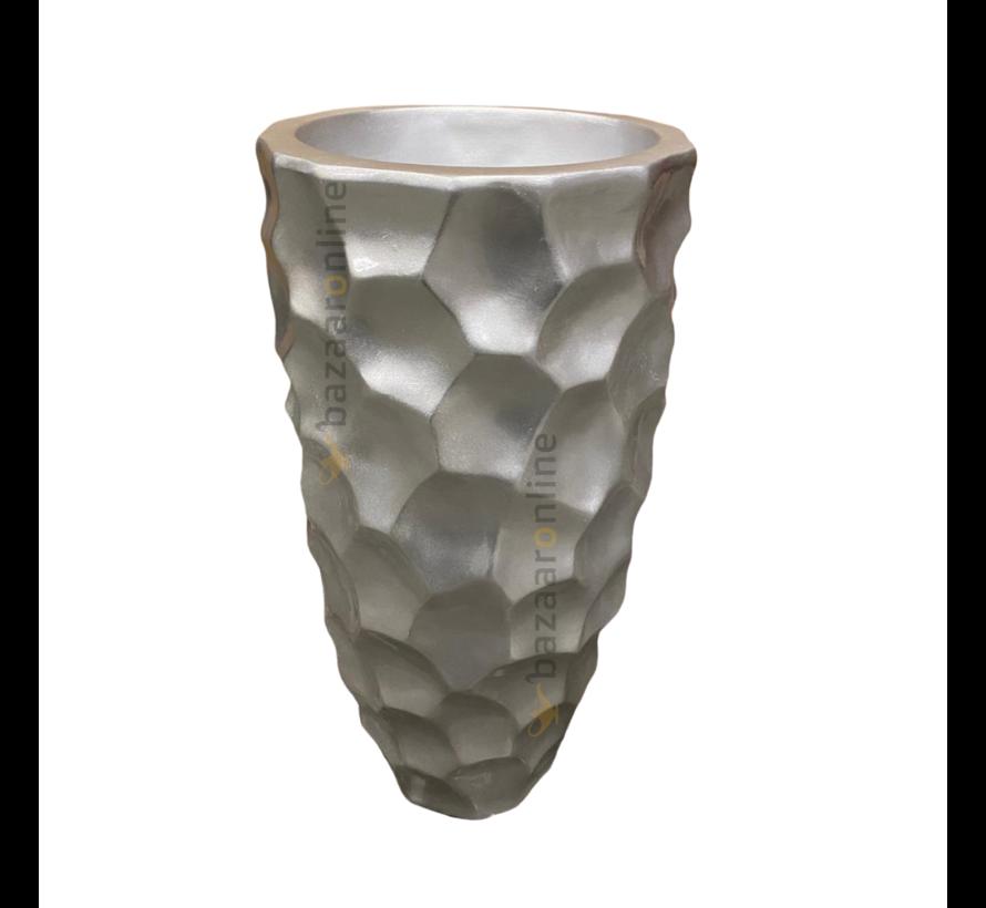 Pot Landora 60 cm Zilver
