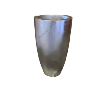 Pot Romadora 70 cm Zilver
