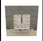 Cuneo Mirror - Klok - Stil Uurwerk - 50 x 50 cm - Spiegelglas