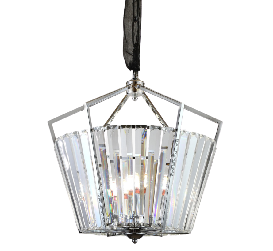 Hanglamp Genova - Rond - Eric Kuster Stijl  - Zilver