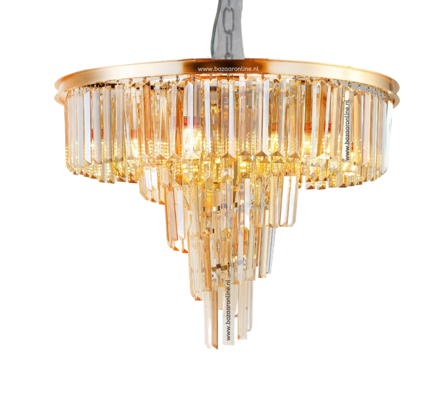 Hanglamp Florence - Eric Kuster Stijl  - Goud