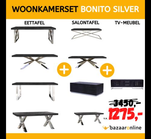 WOONKAMERSET BONITO SILVER