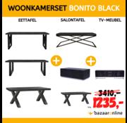 WOONKAMERSET BONITO BLACK