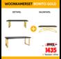 WOONKAMERSET BONITO GOLD