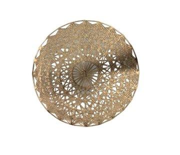 Placemat Mosaic Goud ø 35 cm