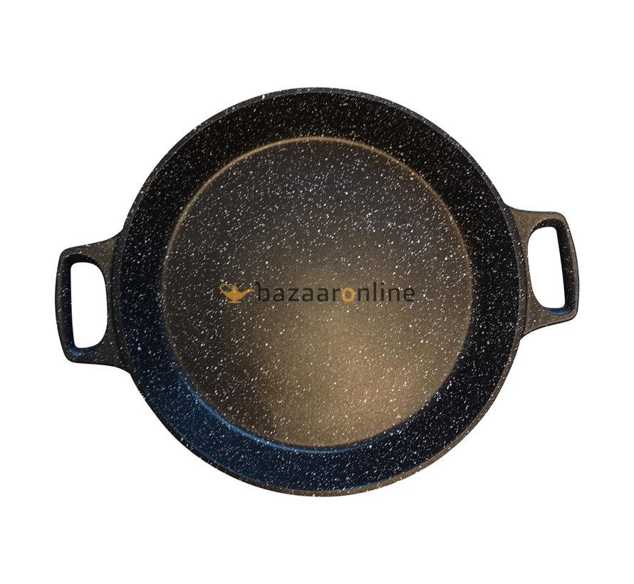 Paella pan 32 cm - met anti-aanbaklaag