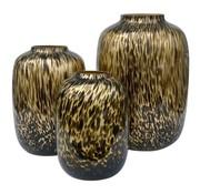 Cheetah vaas - large - goud - Art