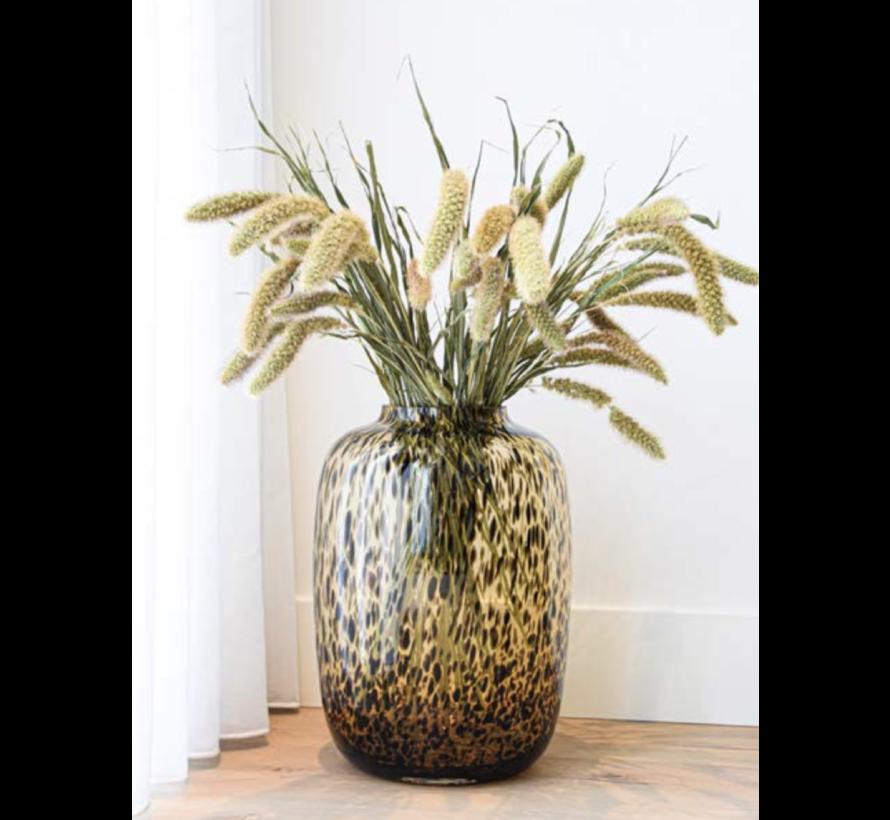 Panther vaas - large - goud - Art - Ø32,5 x H45 cm