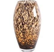 Uba cheetah vaas - goud