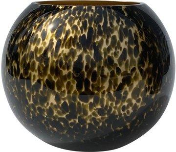 Zam cheetah vaas - goud