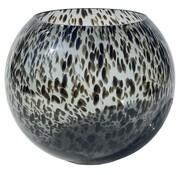 Zam cheetah vaas - Grijs