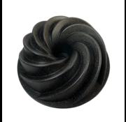 Charlottevorm - Glans Zwart - Bakvorm