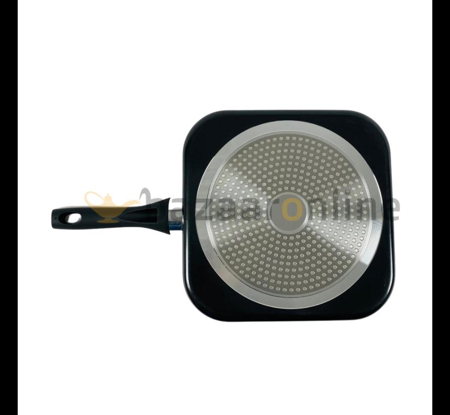Marokkaanse pannenkoekenpan / Msemmen Baghrir pan 24 cm