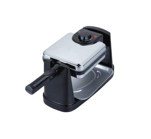 Teffo Wafelijzer maker - 180° rotatie - vierkant