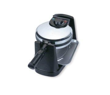 Teffo Wafelijzer maker - 180° rotatie - rond