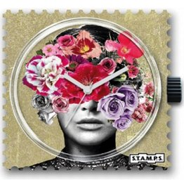 S.T.A.M.P.S Klokje Head Full Of Flowers