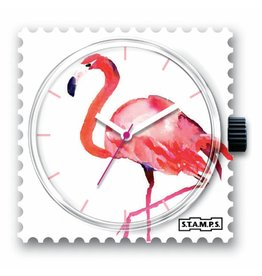 S.T.A.M.P.S Watch Pink Feathers