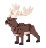 Nano Blocks Building Kit Irish Elk
