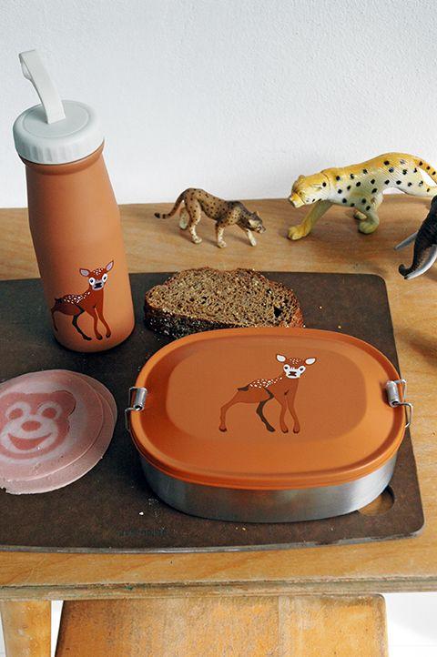 The Zoo Butterbrotdose Babyhirsch
