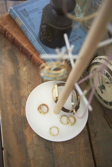 Yamazaki Schmuckständer Tosca Weiß