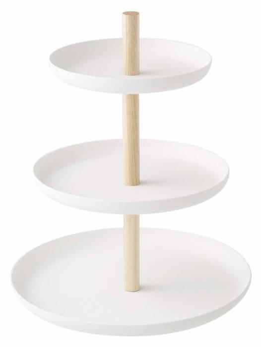 Yamazaki Etagere Tosca 3 Schichten Weiß