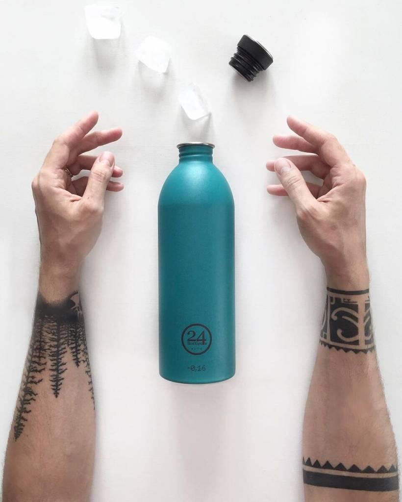 24Bottles Trinkflasche Urban Bottle 0.5L Stone Atlantic Bay