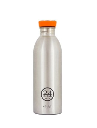 24Bottles Drinkfles Urban Bottle 0,5L Steel