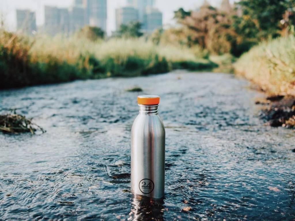 24Bottles Trinkflasche Urban Bottle 0.5L Steel