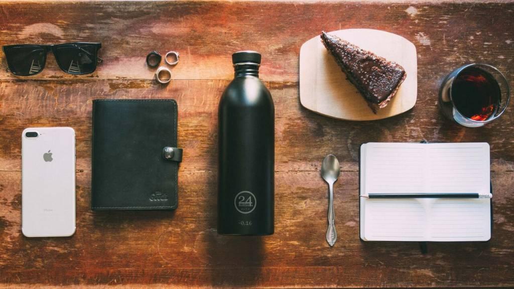 24Bottles Trinkflasche Urban Bottle 0.5L Tuxedo Black