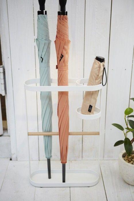 Yamazaki Regenschirmhalter Tosca Weiß