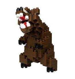 Nano Blocks Bausatz Grizzlybär