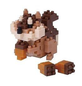 Nano Blocks Bausatz Eichhörnchen