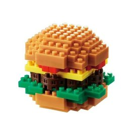Nano Blocks Building Kit Hamburger