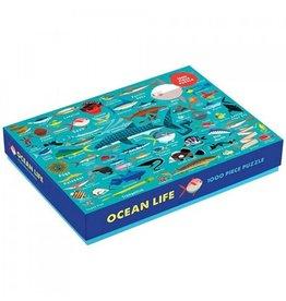 Mudpuppy Puzzle Ocean Life1000pcs