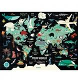 Mudpuppy Puzzle Your World 1000pcs
