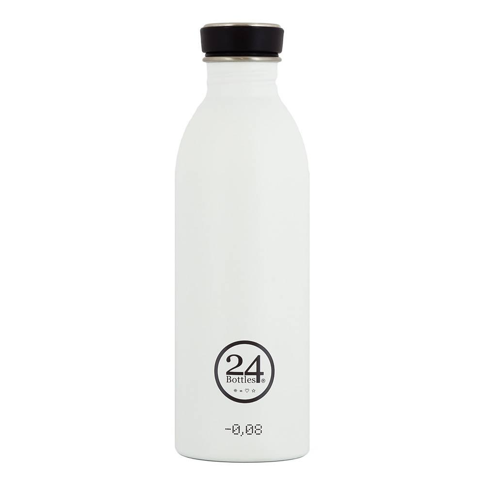 24Bottles Urban Drinking Bottle 0.5L White