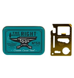 Gentlemen's Hardware Credit Card Multitool