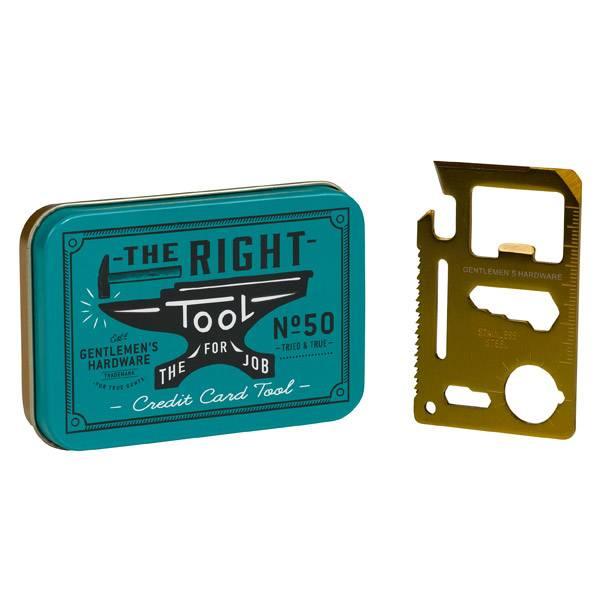 Gentlemen's Hardware Kreditkarte Multi Tool