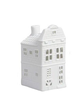 &Klevering Teelichthalter Kanälhaus Blockfassade