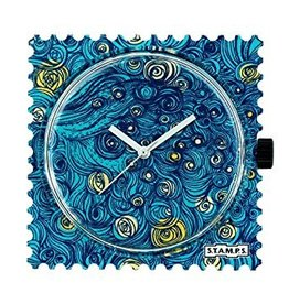 Stamps Uhr Midnight in Paris