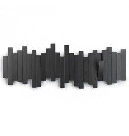 Umbra Coat Rack Sticks Multi Hook Black