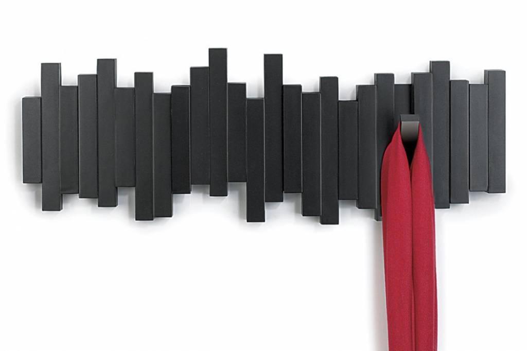 Umbra Garderobe Sticks Multi Hook Schwarz