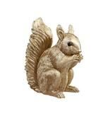 &Klevering Spardose Eichhörnchen Gold