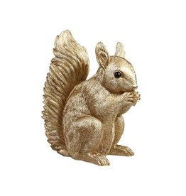 &Klevering Coinbank Squirrel Gold