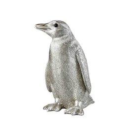 &Klevering Coinbank Penguin Silver
