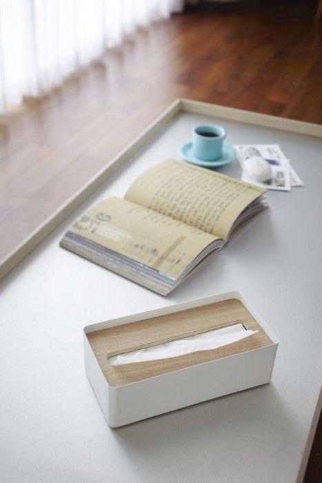 Yamazaki Tissue Box Rin Natural