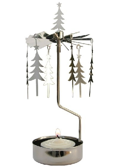 Pluto Produkter Rotary Tea Light Holder Tree